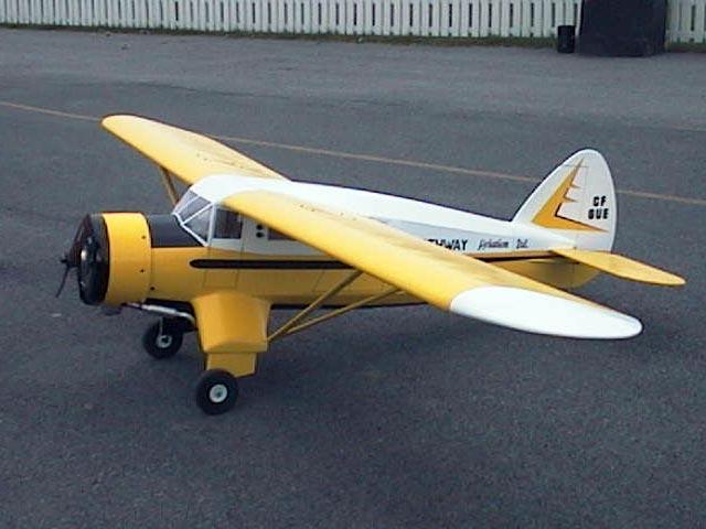 Noorduyn Norseman Mk V (oz10671) from Unionville Hobby