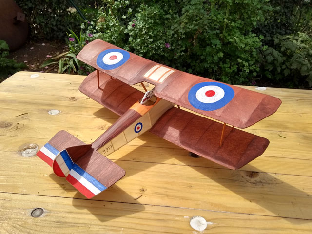 Sopwith Pup (oz10673) by Peter Rake 2015