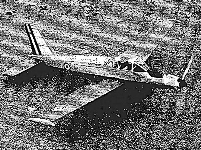 Morane-Saulnier MS 1500 - completed model photo