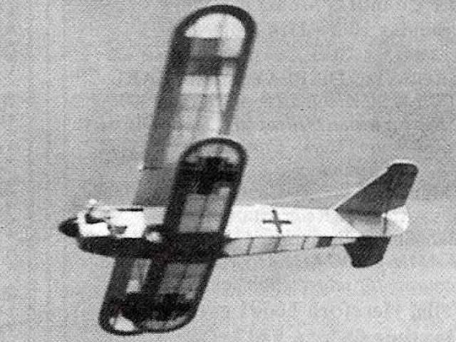 Fiat CR 32 - completed model photo
