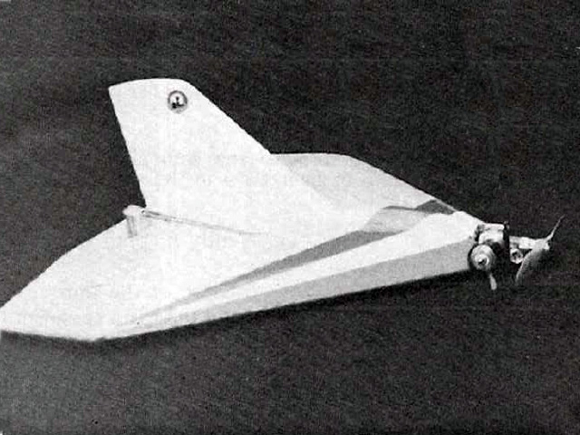 1/2A Delta (oz10690) by Greg Doe from Model Airplane News 1978