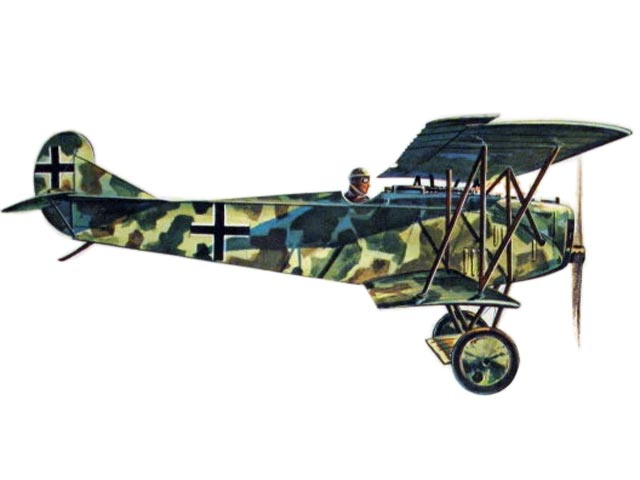 Fokker D7 - completed model photo