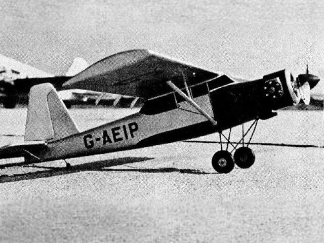 Prestwick Pioneer II (oz1075) by Paul Palanek from Flying Models 1956