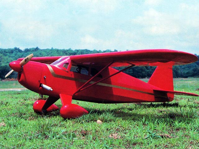 Rearwin Speedster M6000 - completed model photo