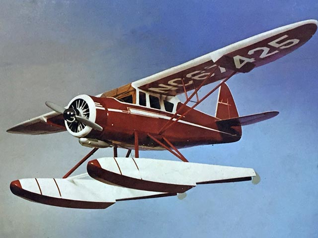 Howard DGA-15 - completed model photo