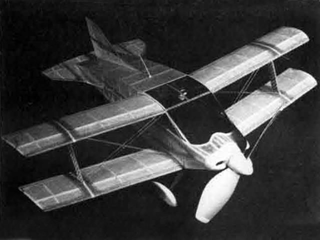 Sorrell SNS-7 Hiperbipe - completed model photo