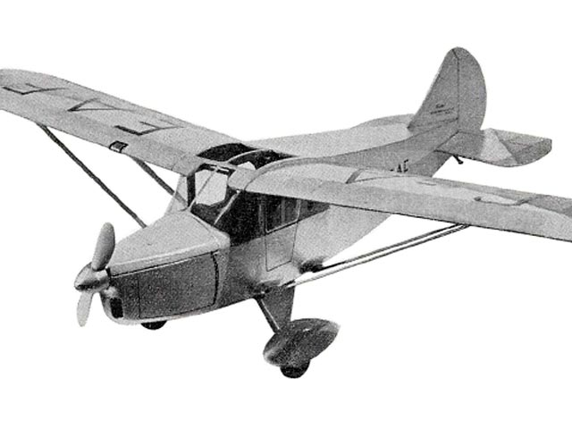 Foster Wicko (oz10783) by Eric Fearnley from Model Aircraft 1954