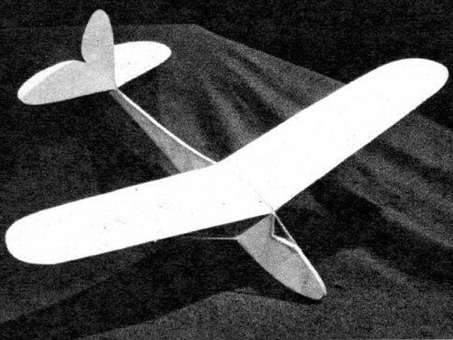 Air Youth Glider No.2 (oz10785) by WF Tyler from Air Trails 1943