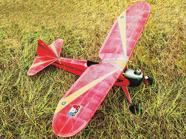 Cavu - Ken Willard - Model Airplane News - 1938 - 42in