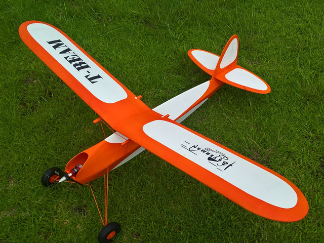 T-Beam - completed model photo