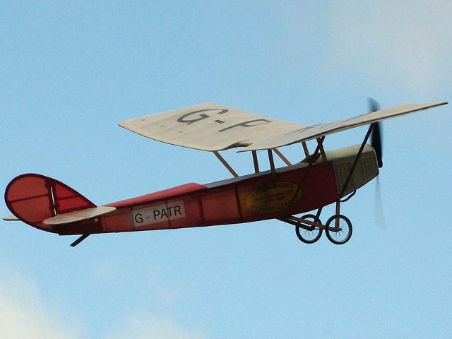 Sperry Monoplane - completed model photo