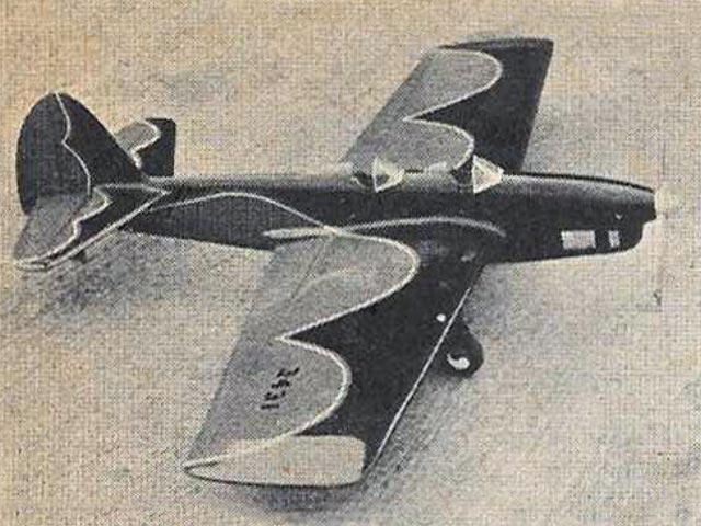 Vega 35 - completed model photo
