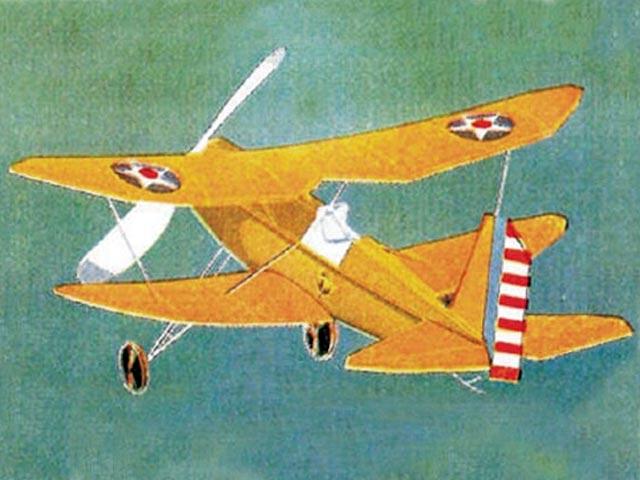 C-1 Pursuit - completed model photo