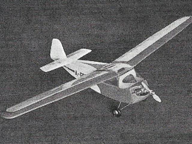 Scheibe Sperling (oz10836) by Alfred Ledertheil from FMT 1956