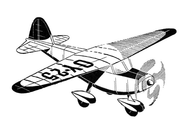 Macchi MB-308 - completed model photo