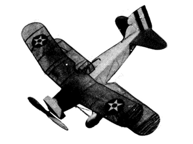 Curtiss Helldiver (oz10916) from Megow 1934