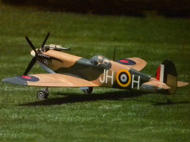 Fun Scale Spitfire - completed model photo