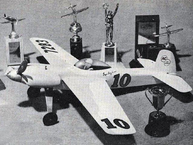 Super Sky Lancer - completed model photo