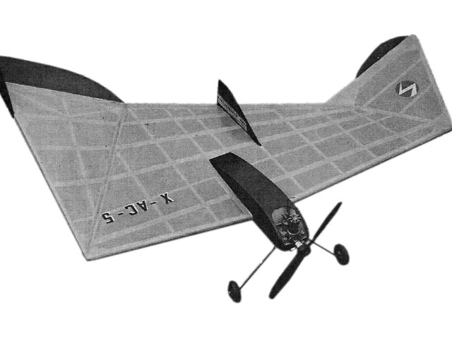 X-AC-5 (oz10999) by OFW Fisher from American Aircraft Modeler 1967