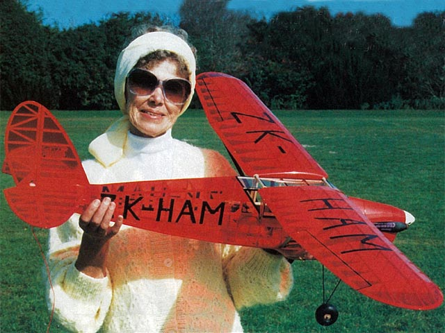 De Havilland Puss Moth (oz11001) by Tom Charlsworth from EFI 1997