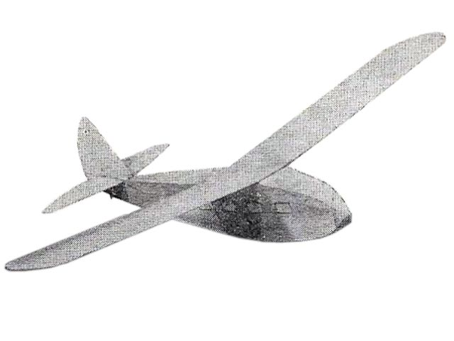 Arnhem Glider (oz11002) by Aeromodeller Research Dept from Aeromodeller 1947