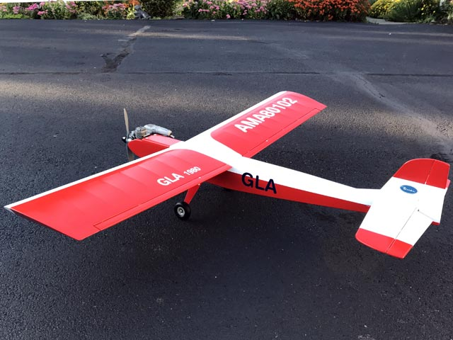 GLA (oz11007) by Joe Bridi from Model Airplane News 1980