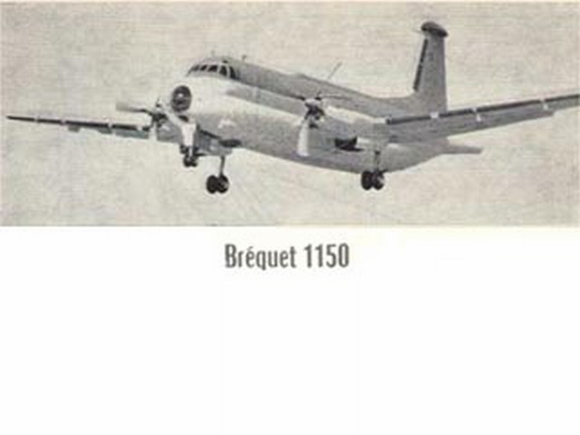 Breguet Atlantic (oz1101) by Roland Le Guenou from Le Modele Reduit D'Avion 1969