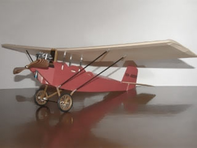 Pietenpol Air Camper - completed model photo