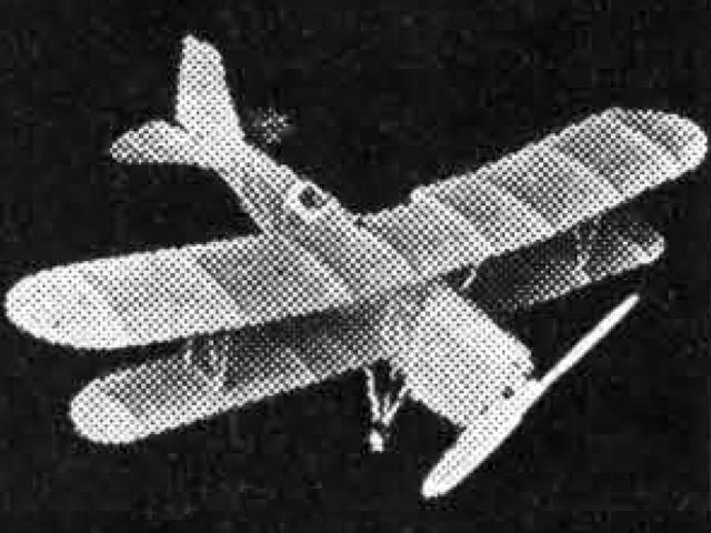 Curtiss Falcon (oz11021) by EC Piaget from GHQ Model Airplane 1934