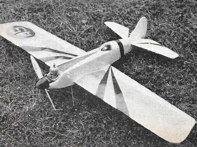 Acrobator (oz11038) by Hoh Fang Chiun from Model Aircraft  1958