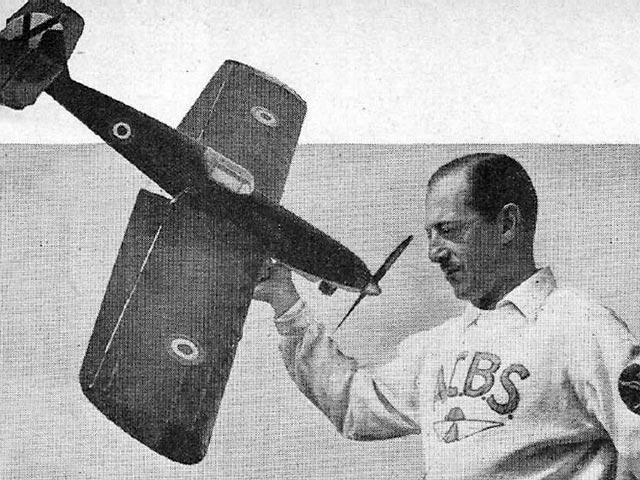 Picador (oz11044) by F Batllo from Aeromodeller 1956
