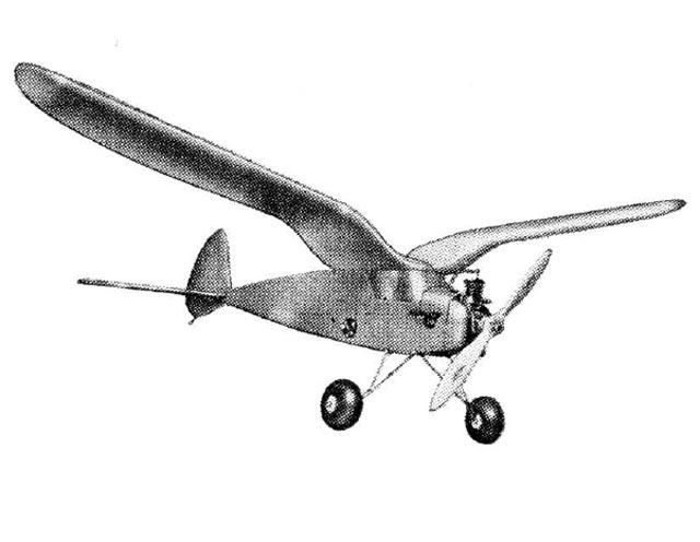 Spook 72 (oz11046) by John Muir, Barney Snyder, Stuart Jones from Model Airplane News 1973