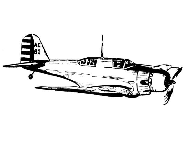 Northrop A-17A - 11076