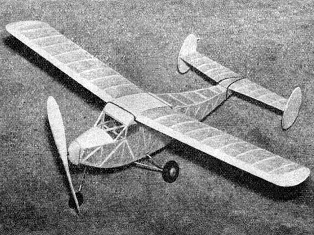 Dorland (oz11082) by Aeromodeller Staff from Aeromodeller 1946