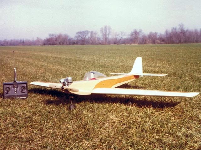 Sun Fli 4 20 (oz11095) by Joe Bridi from Bridi Hobby Enterprises 1978