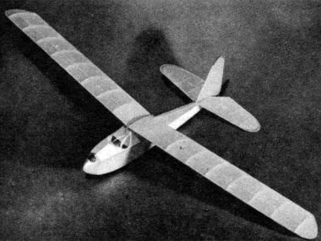 Air Youth Glider No.3 (oz1111) by WF Tyler from Air Trails 1943