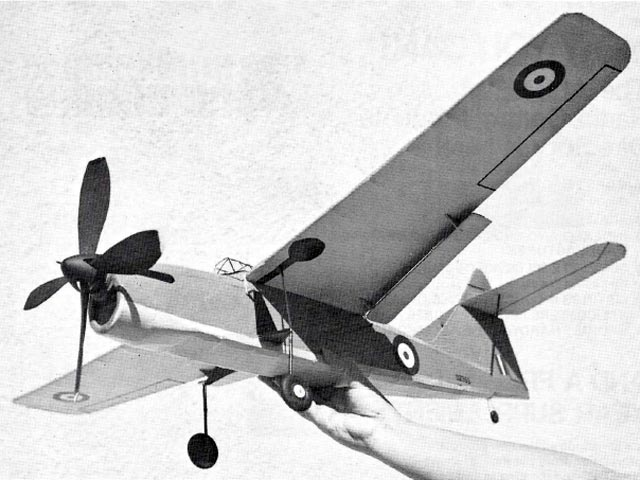 Fairey Barracuda (oz11122) by Jack Headley from American Aircraft Modeler 1973