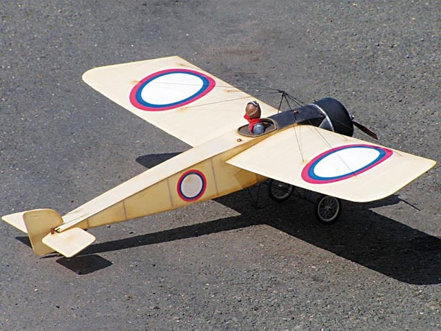 Morane Saulnier Type G (oz11132) by Peter Rake from Flying Scale Models  2009