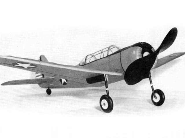 Curtiss SNC-1 (oz11169) by Sidney Struhl from Model Airplane News 1943