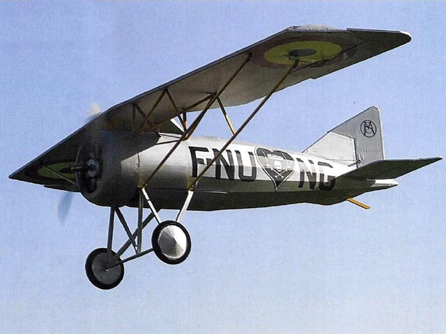 Morane Saulnier AI (oz11186) by Peter Rake from Flying Scale Models 2009