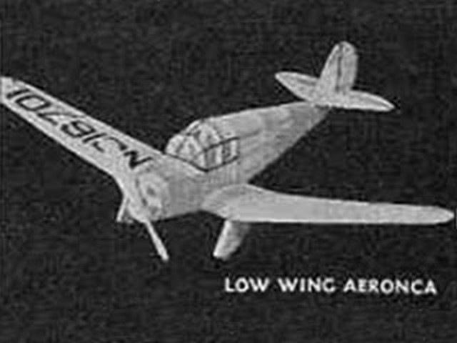 Aeronca Low Wing (oz112) from Comet