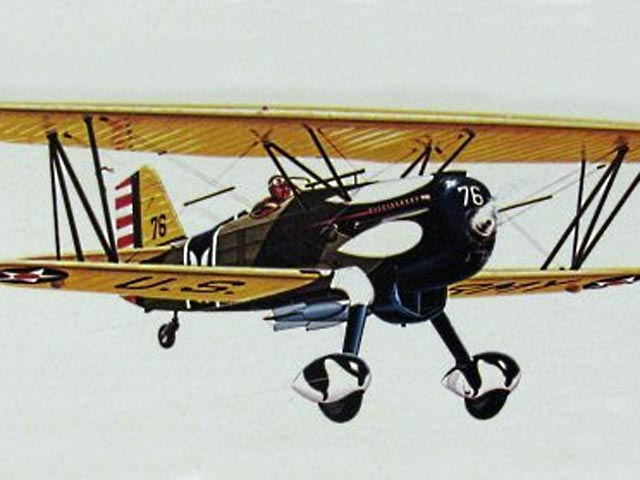 Curtiss Hawk P6E (oz11207) from Sterling