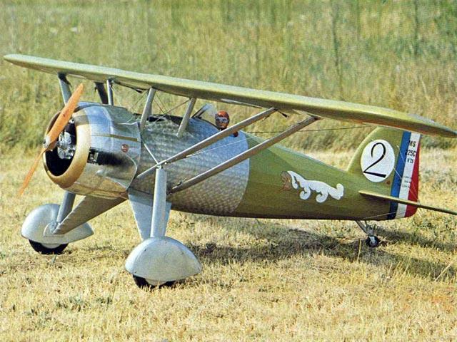 Morane Saulnier 225 C1 (oz11212) by Jean Destelle from Radio Commande Magazine