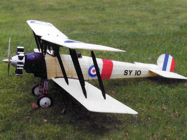 Avro 504N (oz11218) from Veron
