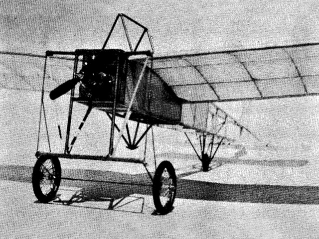 Bleriot XI (oz11220) by Art Reiners from Peterson Products