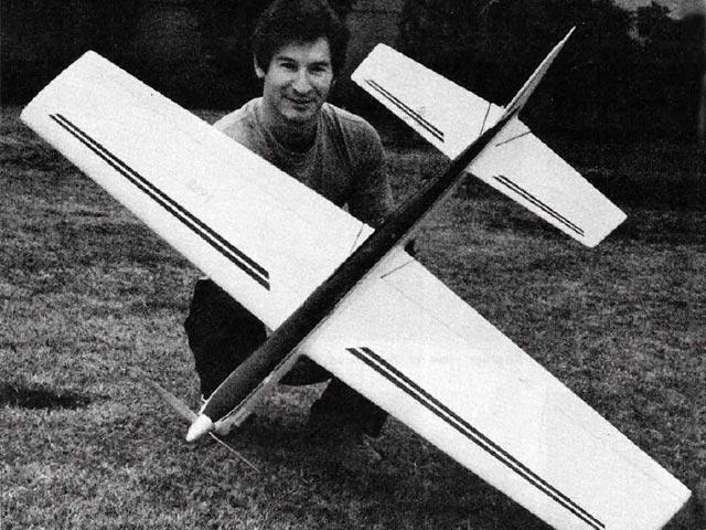 Avanti (oz11248) by Robert Baron from Model Airplane News 1978