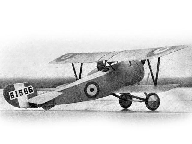 Bishops Nieuport 17 (oz11275) by LC Bagley from Aeromodeller 1948