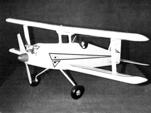 Baby Bipe (oz11308) by Don Prentice from Model Airplane News 1977
