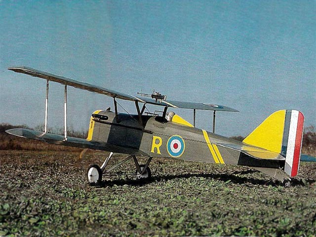 SE5a (oz11321) by Rich Uravitch from Model Airplane News 1985