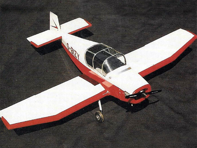 Jodel D112/117 (oz11339) by David Boddington from Radio Control Scale Aircraft 1990